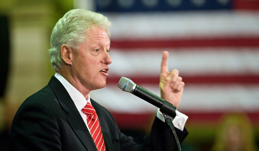 Person profession president-speech official bill Clinton